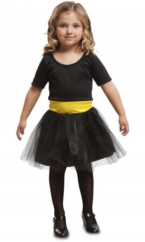 Kostýmy - Dětský kostým Superhrdinka černá