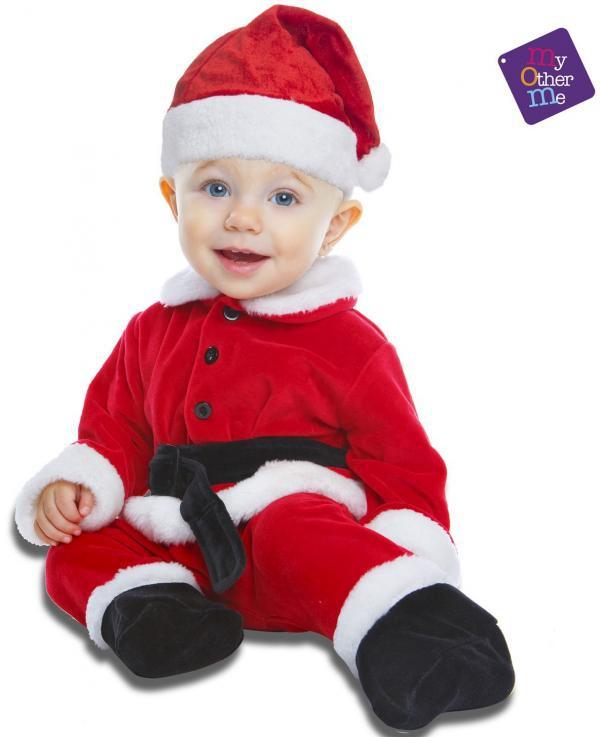 Kostýmy - Dětský kostým Santa Claus pro miminko