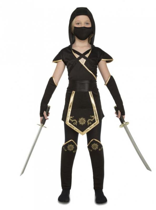 Kostýmy - Dětský kostým Černý Ninja