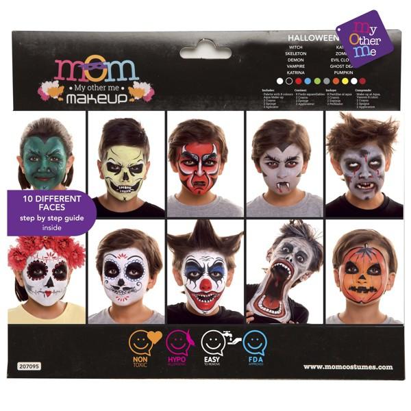 Líčidla a kosmetika - Make up Sada Halloween