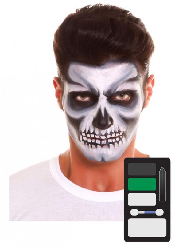 Líčidla a kosmetika - Make up Sada Kostlivec