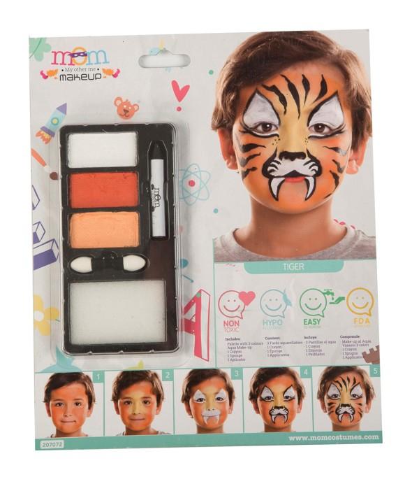 Líčidla a kosmetika - Make up Sada Tygr