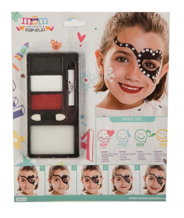 Líčidla a kosmetika - Make up Sada Pirátka