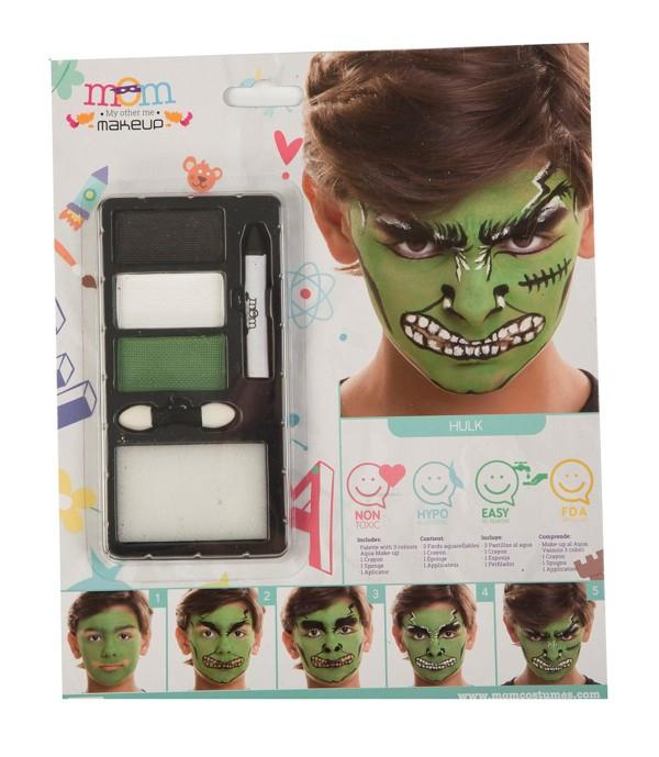 Líčidla a kosmetika - Make up Sada Hulk
