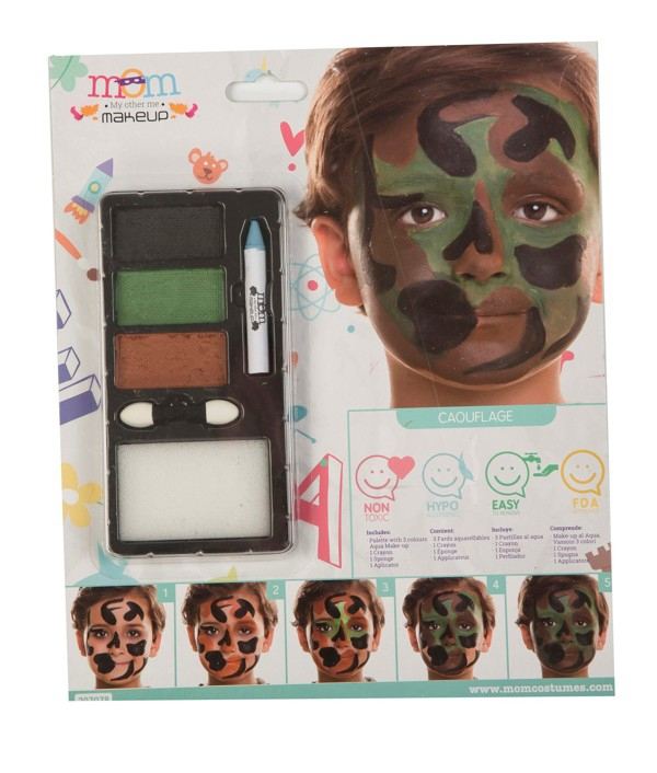 Líčidla a kosmetika - Make up Sada Camouflage