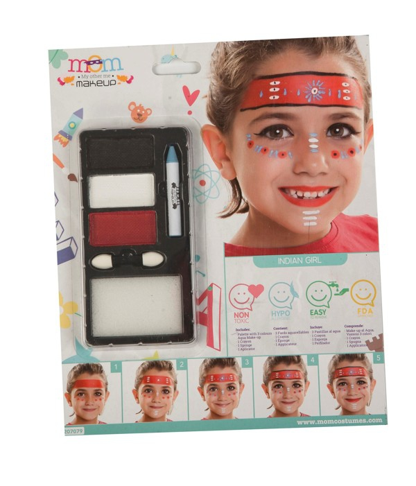 Líčidla a kosmetika - Make up Sada Indiánka