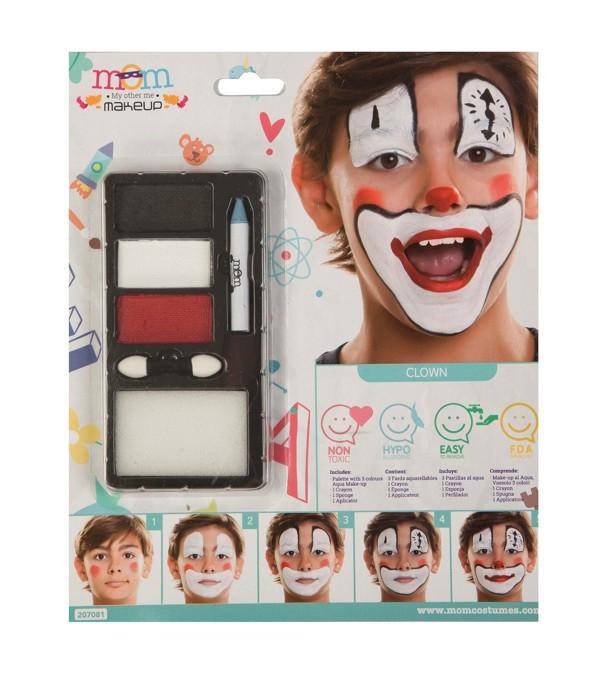 Líčidla a kosmetika - Make up Sada Klaun