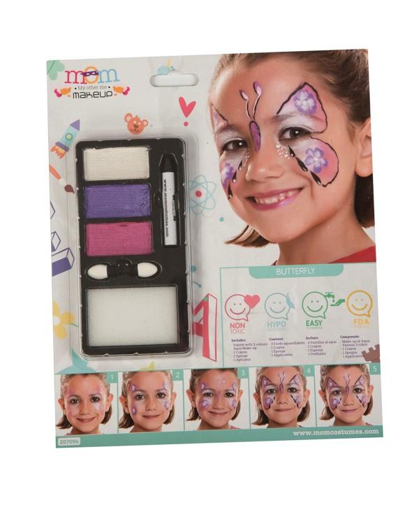 Líčidla a kosmetika - Make up Sada Motýl