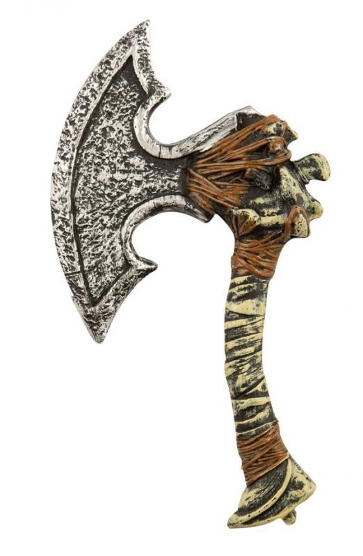 Halloween, strašidelné kostýmy - Sekera s kostí