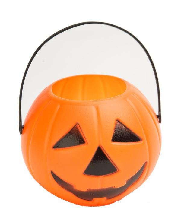 Halloween, strašidelné kostýmy - Dýně s ouškem