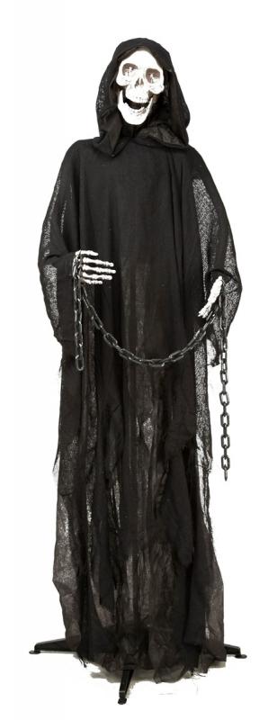 Halloween, strašidelné kostýmy - Duch s řetězy