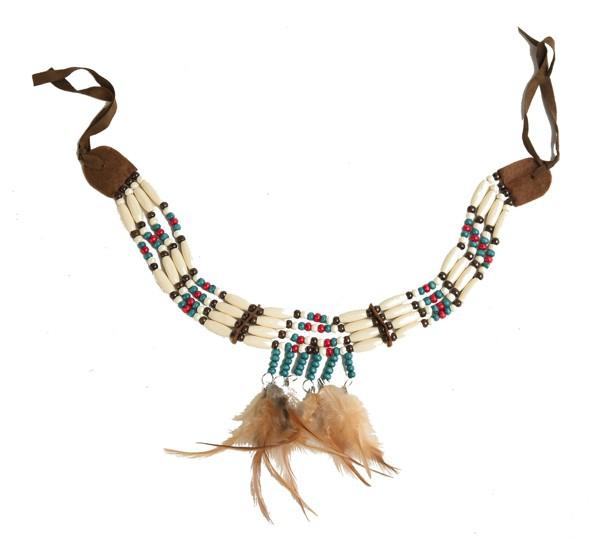 Karnevalové doplňky - Indiánský náhrdelník