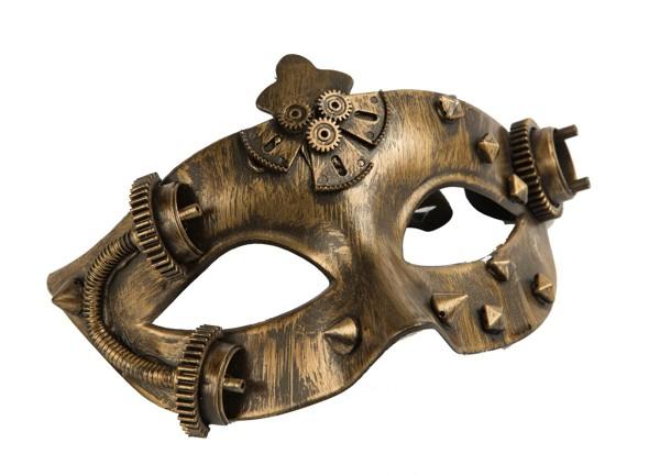 Masky - Škraboška Steampunk