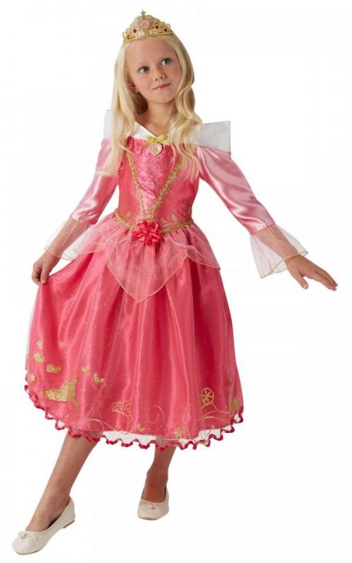 Kostýmy z filmů a pohádek - Dívčí kostým Šípková Růženka