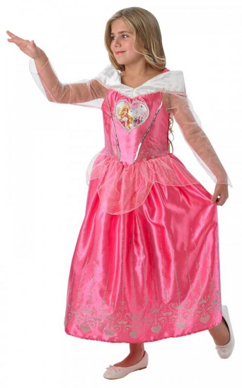 Kostýmy z filmů a pohádek - Dívčí kostým Šípková Růženka II