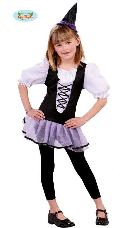 TOTÁLNÍ VÝPRODEJ SKLADU - Kostým čarodějnice pro děti