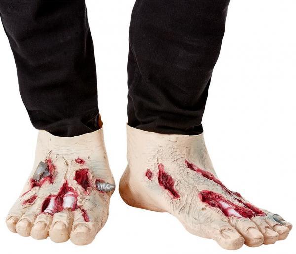 Karnevalové doplňky - Zombie nohy