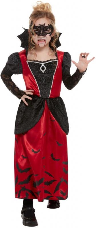 Kostýmy - Dětský kostým Vampírka s maskou