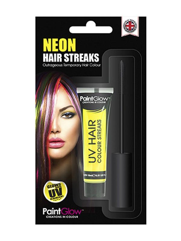 Líčidla a kosmetika - Barva na barevné pruhy vlasů UV