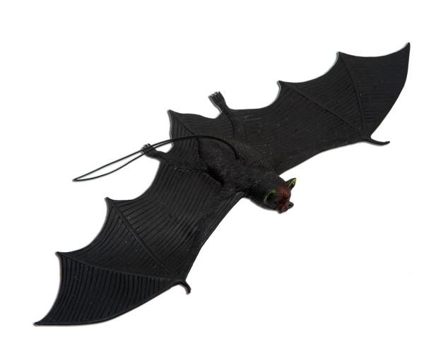 Halloween, strašidelné kostýmy - Netopýr 32 cm