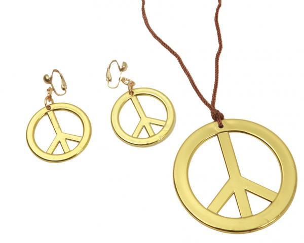 Hippie - Náhrdelník a náušnice Hippie