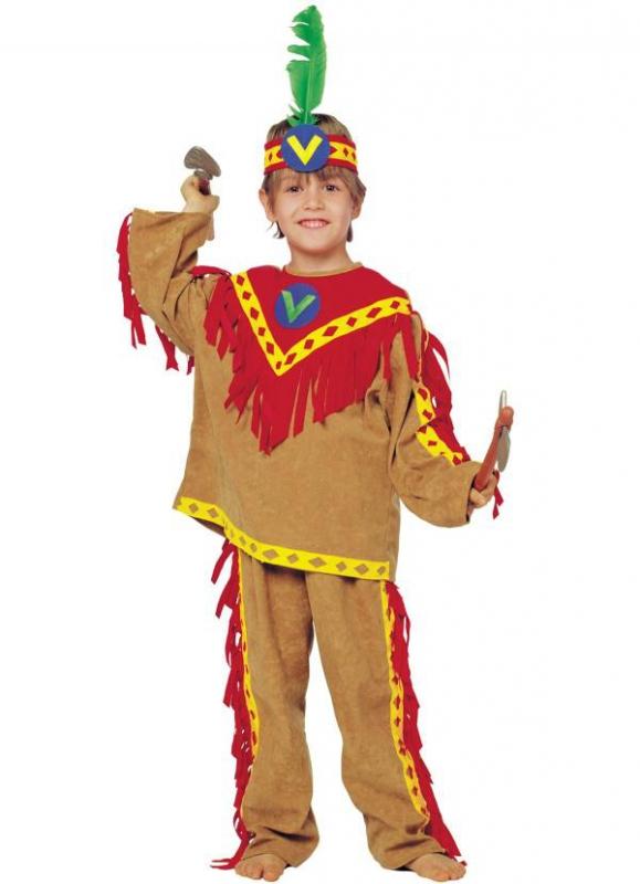 Dětský kostým Indián - Levný karneval fa0c738846
