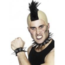 Punkový náramek a obojek