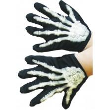 Dětské rukavice kostlivec vystupující kosti