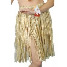 Havajská sukně přírodní  56 cm