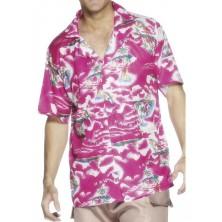 Havajská košile růžová