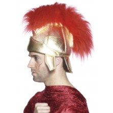 Helma Římská s červenou chocholkou