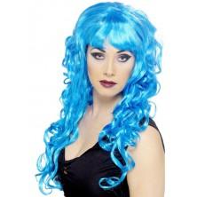 Dámská paruka Siren modrá