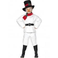 Dětský kostým Sněhulák