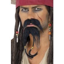 Knír a bradka Pirát