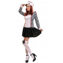 Dámský kostým Námořnice