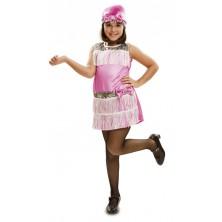 Dětský kostým Charleston růžový