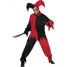 Kostým strašidelný klaun halloween