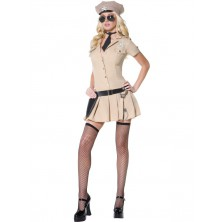 Dámský kostým Sexy policistka sheriff