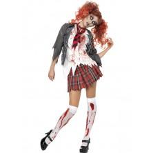 Kostým High School zombie školačka