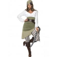 Dámský kostým Pirátka IV