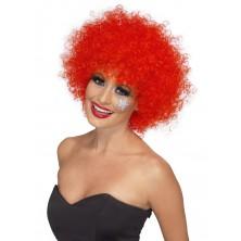 Paruka Funky Afro červená