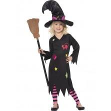 Dětský kostým Čarodějnice I