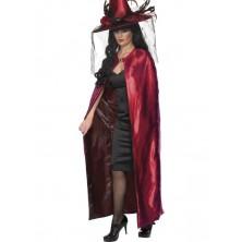 Plášť Čarodějnice černý a červený