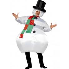 Pánský kostým Sněhulák II