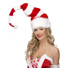 Čepice Santa pruhovaná