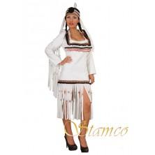 Kostým Bílá indiánka