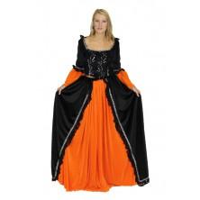 Dámský kostým Černá princezna