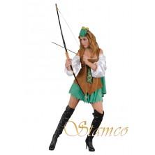 Dámský kostým Robin girl