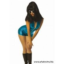 Kostým Crazy girl modrá