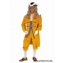 Pánský kostým Markýz žlutý